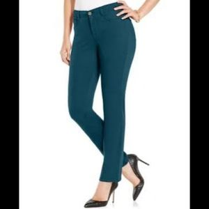 Style & Co Teal Pants Petite